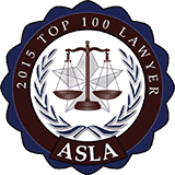ASLA top 100 Lawyers award