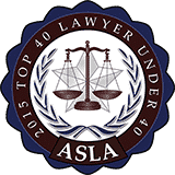 ASLA TOP 40 Lawyer Under 40 Award