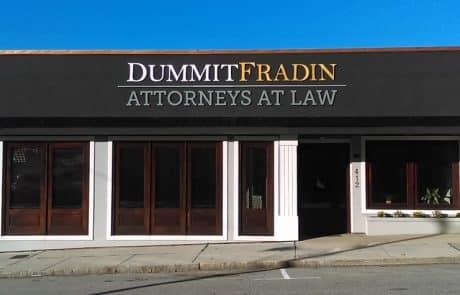 Dummit Fradin Attorneys at Law Greensboro Front