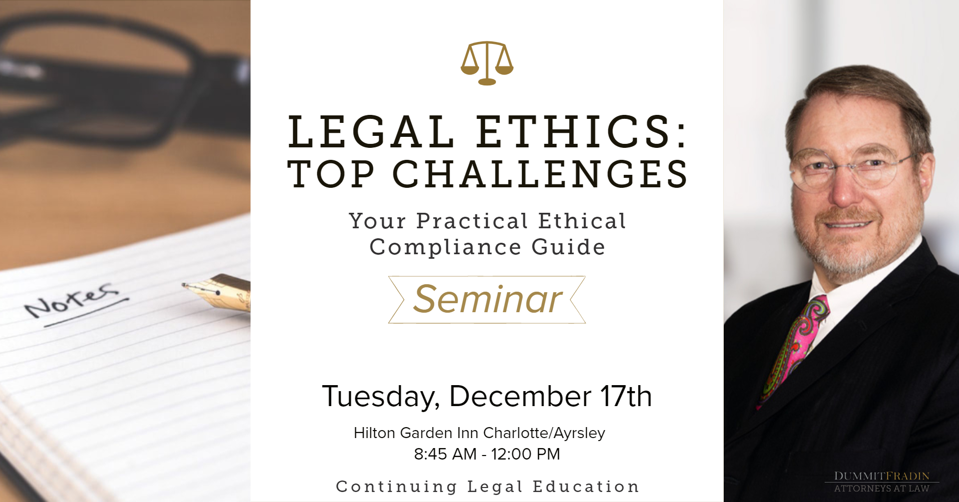Clarke Dummit Legal Ethics CLE December 17 2019